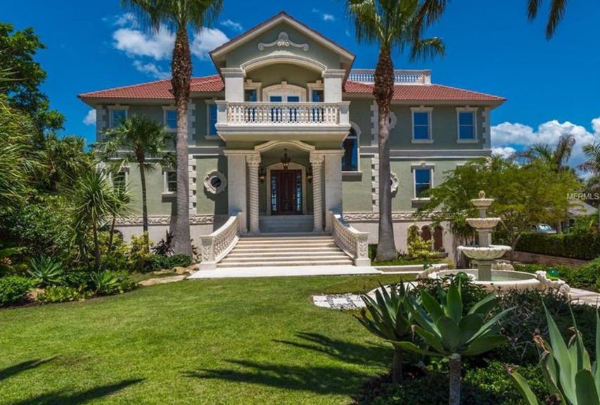 $4.9 Million Waterfront Home In Osprey, FL