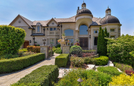 10,000 Square Foot Stone & Stucco Mansion In Naperville, IL