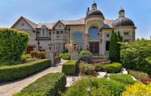 10,000 Square Foot Stone & Stucco Mansion In Naperville, IL