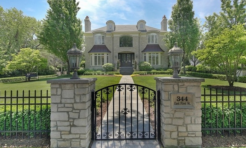 $3 Million Brick Home In Hinsdale, IL
