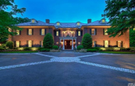 $4.8 Million Brick Mansion In Glen Head, NY