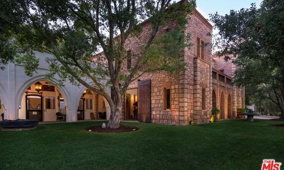 85 Million Equestrian Estate In Beverly Hills Ca Homes