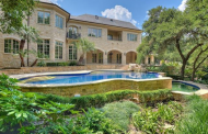 12,000 Square Foot Stone Mansion In Austin, TX