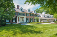 $4.395 Million Colonial Brick Mansion In Wellesley, MA