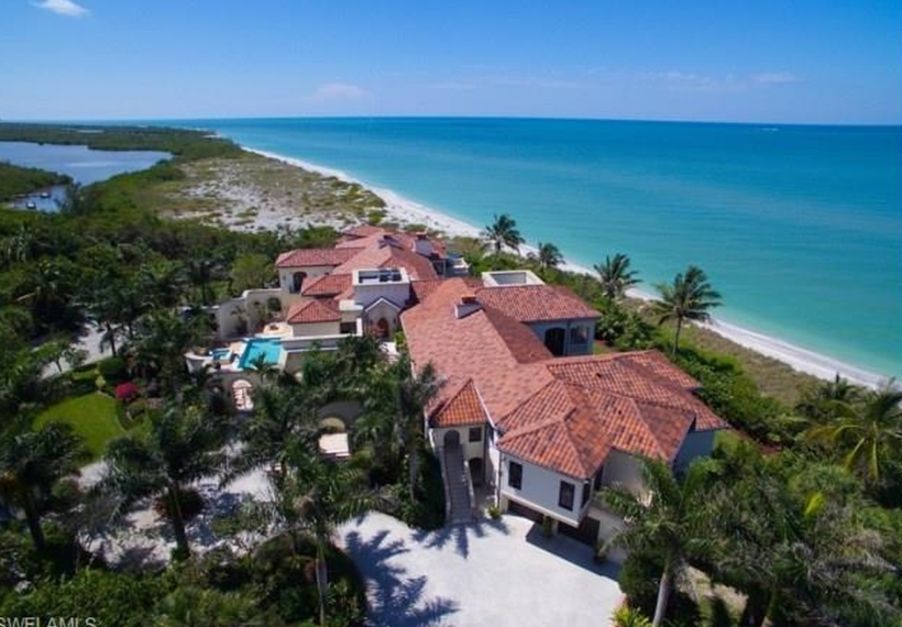 $27 Million Mediterranean Beachfront Mansion In Sanibel, FL