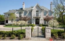 $4.2 Million Brick Mansion In Winnetka, IL