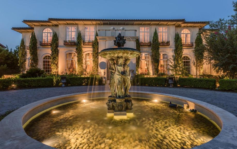 Square Foot European Inspired Mansion Austin