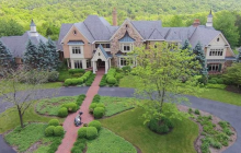10,000 Square Foot English Country Inspired Mansion In Harrisburg, PA