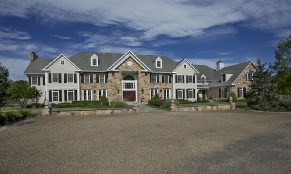 $4.7 Million Colonial Mansion In Far Hills, NJ