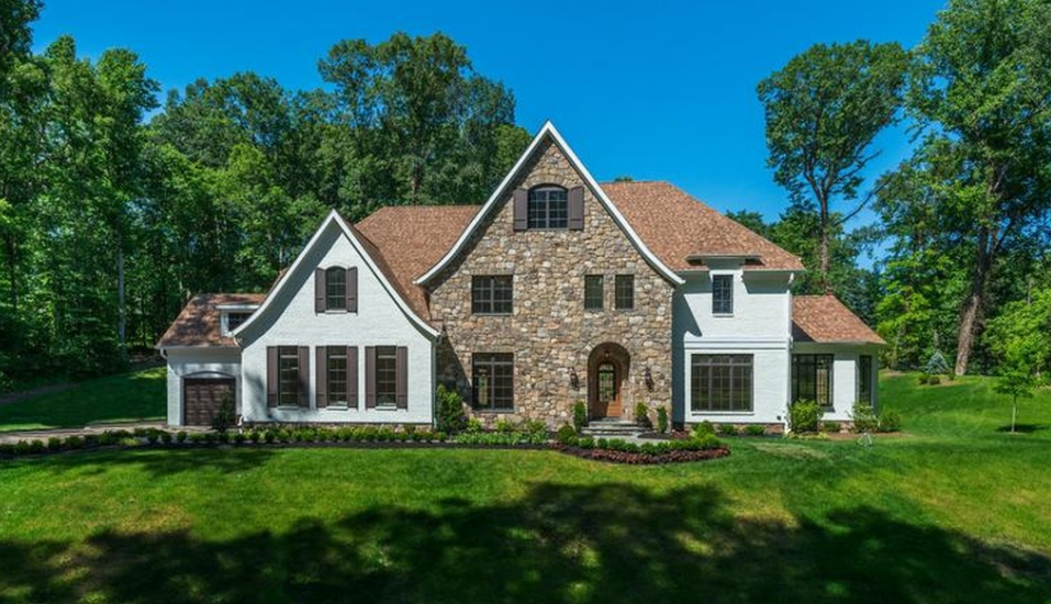 Newly Built Brick & Stone Mansion In McLean, VA Re-Listed