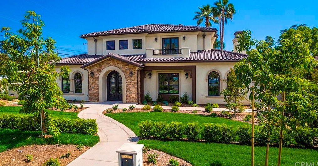 $3.2 Million Newly Built Stone & Stucco Home In Arcadia, CA