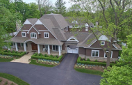 $3.3 Million Shingle & Stone Home In Bloomfield Hills, MI