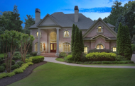 11,000 Square Foot Country Club Brick Mansion In Alpharetta, GA