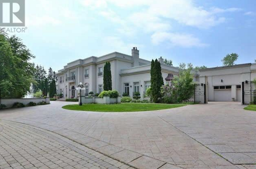 Robert Herjavec S 33 000 Square Foot Toronto Mega Mansion