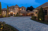 $4.3 Million French Country Waterfront Mansion In Windermere, FL