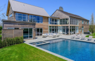 12,000 Square Foot Modern Barn Style Mansion In Bridgehampton, NY