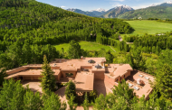 13,000 Square Foot Contemporary Brick Mansion In Aspen, CO