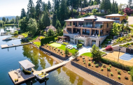 $12 Million Contemporary Lakefront Home In Bellevue, WA