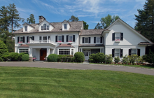$5.995 Million Colonial Mansion In Greenwich, CT