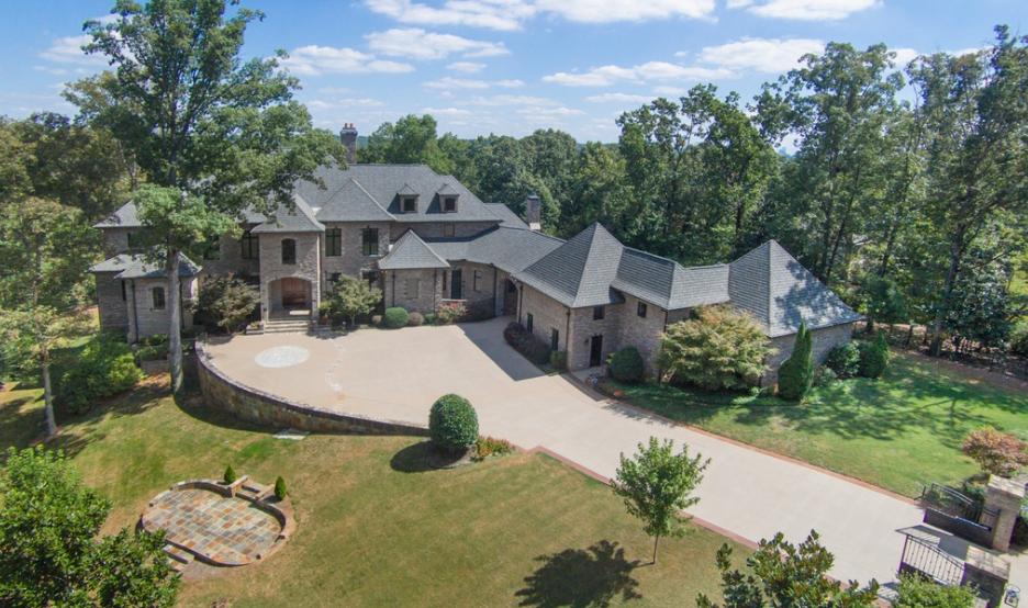 22,000 Square Foot Brick & Stone Mansion In Atlanta, GA