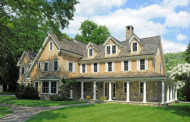 $4.9 Million Shingle & Stone Home In Greenwich, CT
