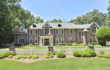 $3.6 Million Brick Mansion In Franklin Lakes, NJ