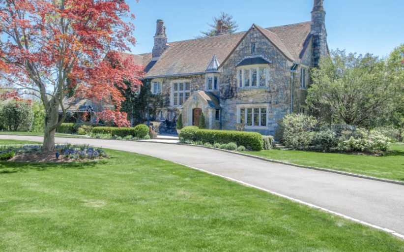 $6.9 Million Historic English Inspired Home In Greenwich, CT