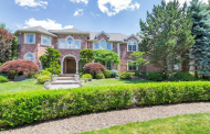 11,000 Square Foot Brick Mansion In Cresskill, NJ