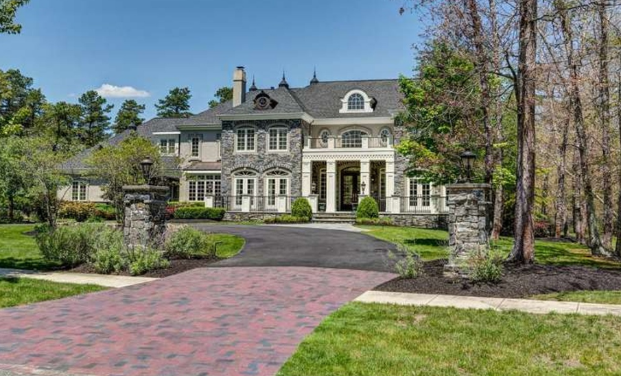 $2.9 Million Stone & Stucco Home In Medford, NJ