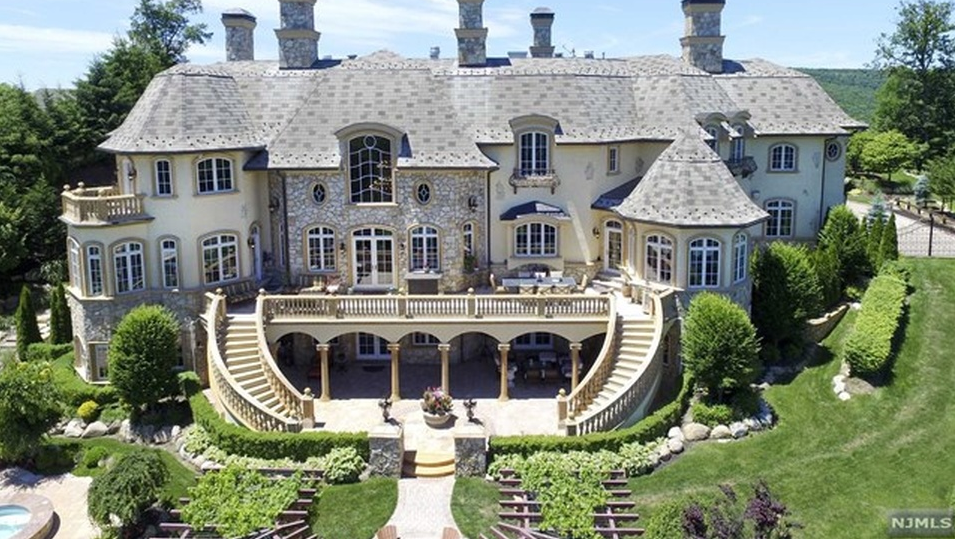 Cars For Sale Nj >> 20,000 Square Foot French Inspired Mansion In Mahwah, NJ ...