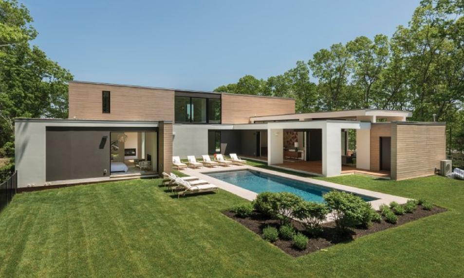 $6.7 Million Newly Built Contemporary Home In Bridgehampton, NY