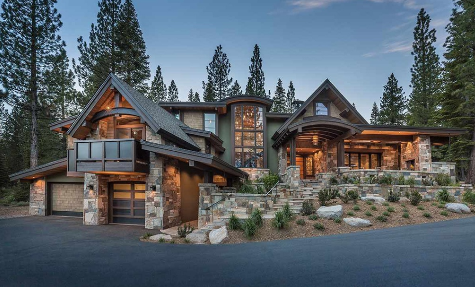 $6.795 Million Newly Built Home In Truckee, CA