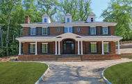 $4.9 Million Newly Built Colonial Brick Mansion In Manhasset, NY