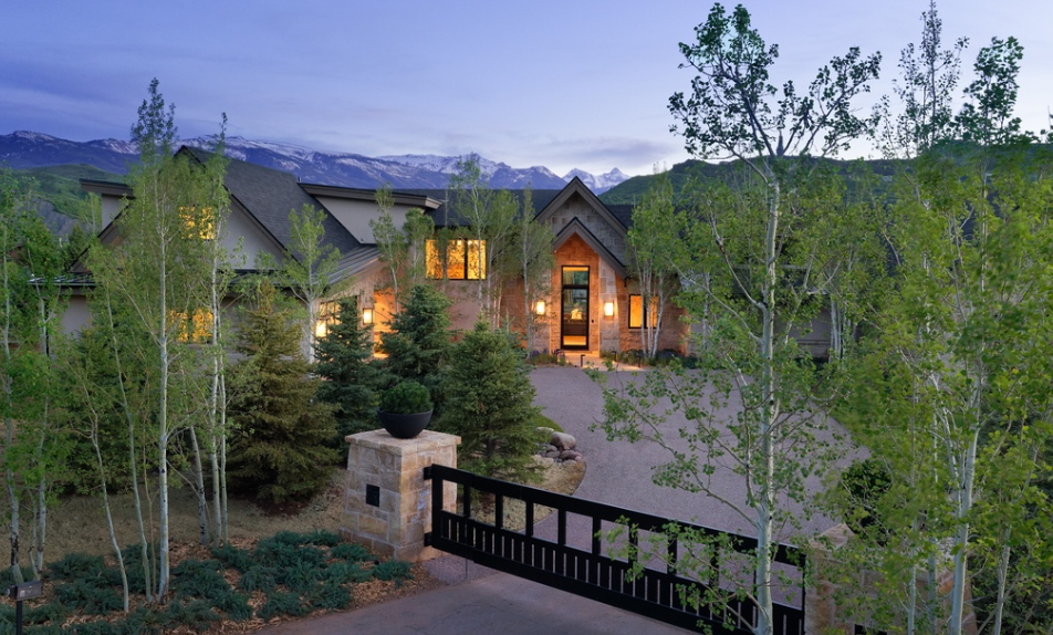 11 5 million newly built contemporary home in aspen co for Celebrity homes in aspen