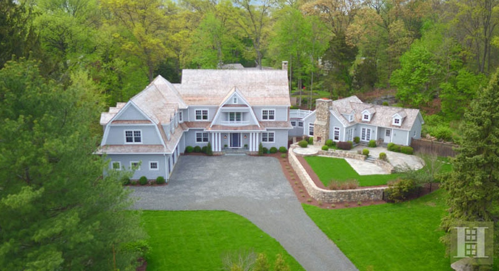 $4.25 million Newly Built Shingle Home In Darien, CT