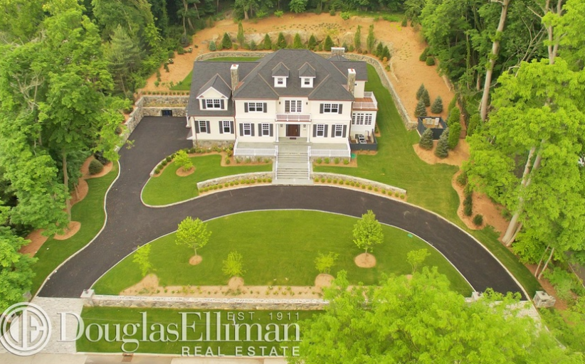 $6.995 Million Newly Built Colonial Home In Rye, NY