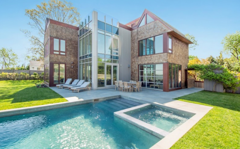 $10.8 Million Contemporary Waterfront Home In Sag Harbor, NY