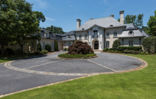 13,000 Square Foot French Inspired Mansion In Atlanta, GA