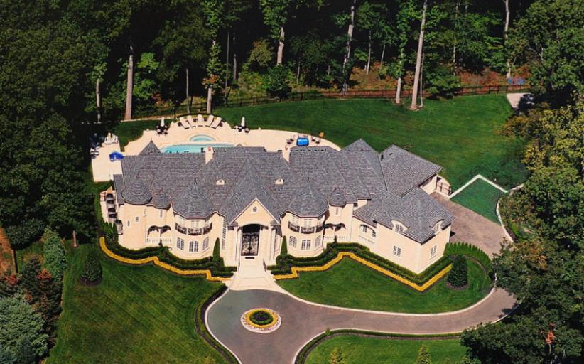 12,000 Square Foot Mansion In Holmdel, NJ