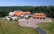 10,000 Square Foot Mediterranean Mansion In Oxford, CT