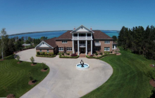 11,000 Square Foot Brick Mansion In Williamsburg, MI