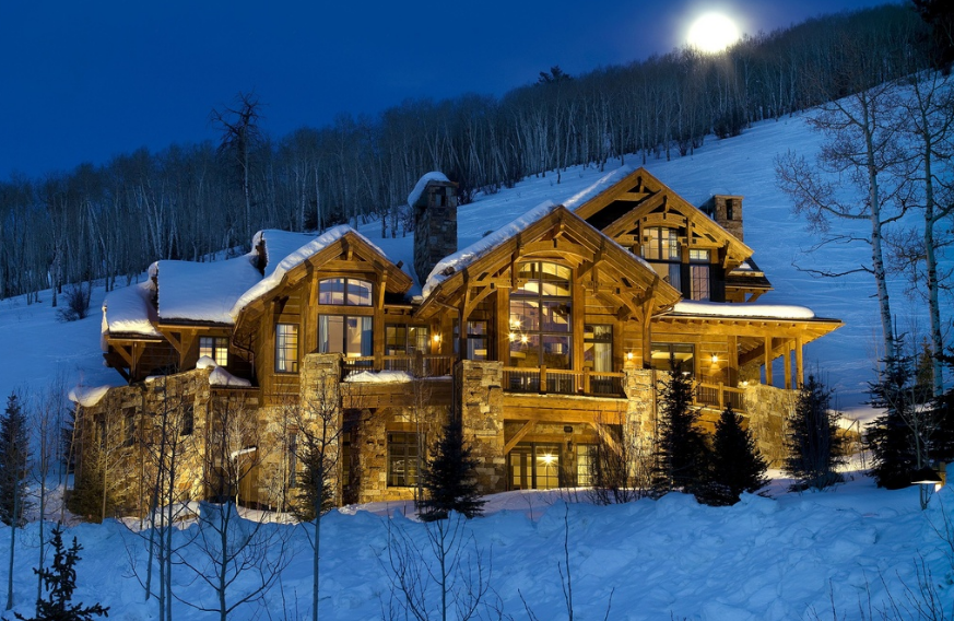 $8.995 Million Mountaintop Mansion In Edwards, CO