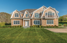 $3.795 Million Newly Built Shingle Home In Southampton, NY
