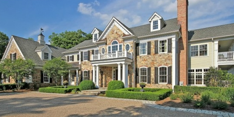11,000 Square Foot Colonial Mansion In Warren, NJ