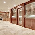 Lower Level Kitchen & Wine Cellar