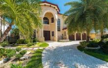 $3.3 Million Mediterranean Waterfront Home In North Miami Beach, FL