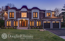 $2.295 Million Newly Built Brick Home In Roslyn Heights, NY