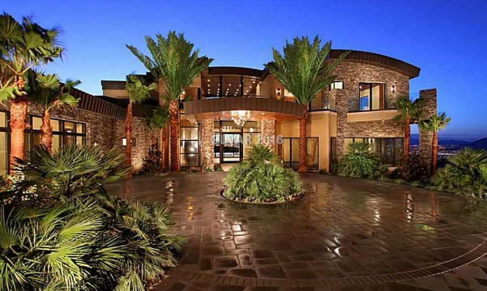 $10.895 Million Newly Built Contemporary Mansion In Henderson, NV