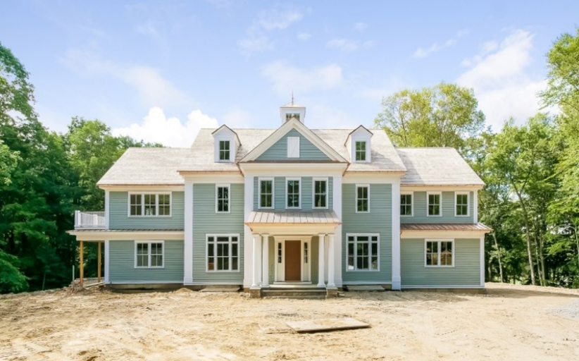 10,000 Square Foot Newly Built Georgian Colonial Mansion In Greenwich, CT