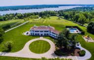 $8 Million Historic Colonial Mansion In Red Bank, NJ